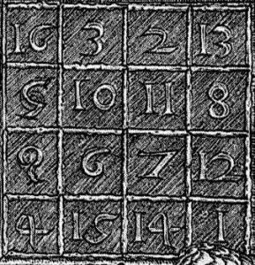 Quadrato magico del Durer